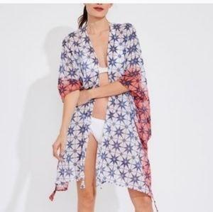 Roberta Roller Rabbit Kimono Swim Cover One Size